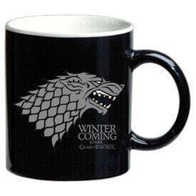 Los cinéfilos son amantes de los reinos de Juego de Tronos, por eso un regalo de una taza como esta es perfecto.