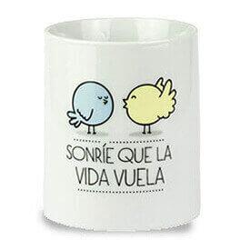 Una taza de porcelana que te motive esa seguro que es de Mr Wondeful. Busca el mensaje más chulo para ti o para regalarla.