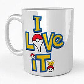 Los desayunos de los entrenadores pokemon también están personalizados con estas tazas de Pokémon. Hay un montón en comprartazas.com