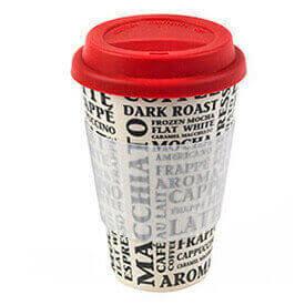 Haz el café en tu casa y tómatelo sin prisas por el camino con estaos termos para café, no necesitas correr para enfiarlo.